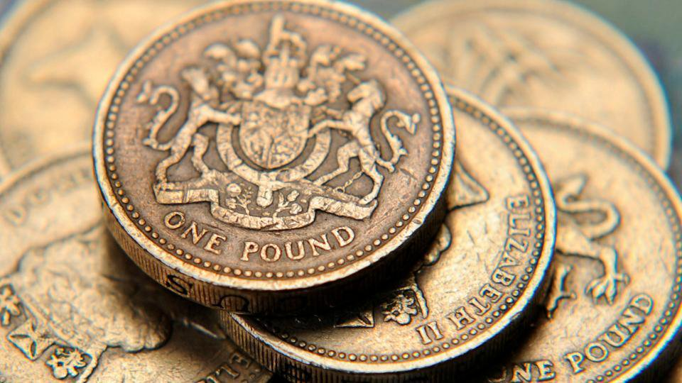 pound stabil koin