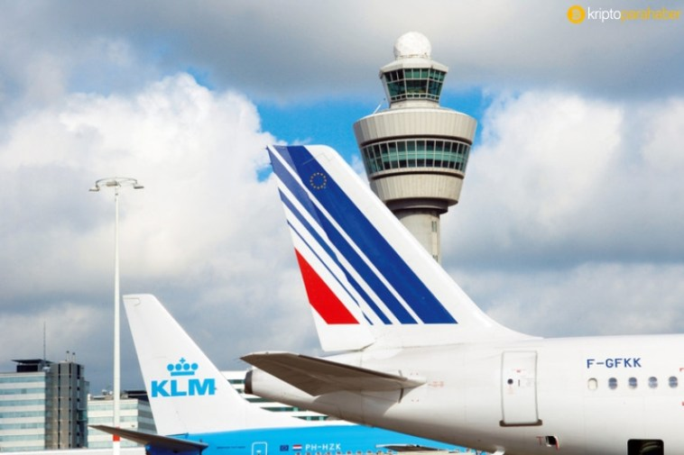 air france klm blockchain